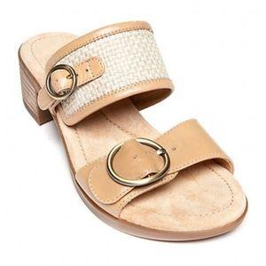Dansko Lenny double strap sandals size 39